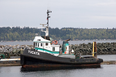 Tugboat at bay