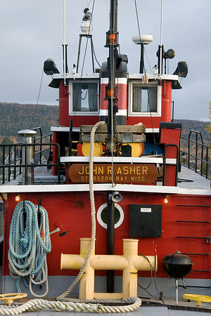 John R. Asher tugboat - Grand Marais, Minnesota