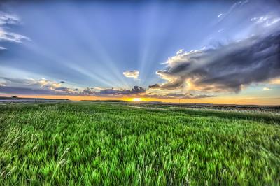 wyoming sunset #1