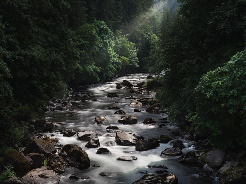 a sleepy creek in washington