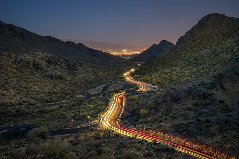 through the desert pass