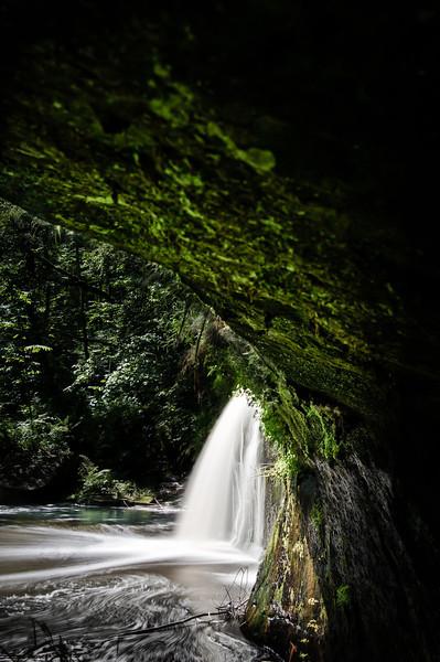 the secret falls