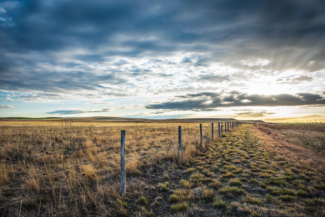 Sunset in Nebraska