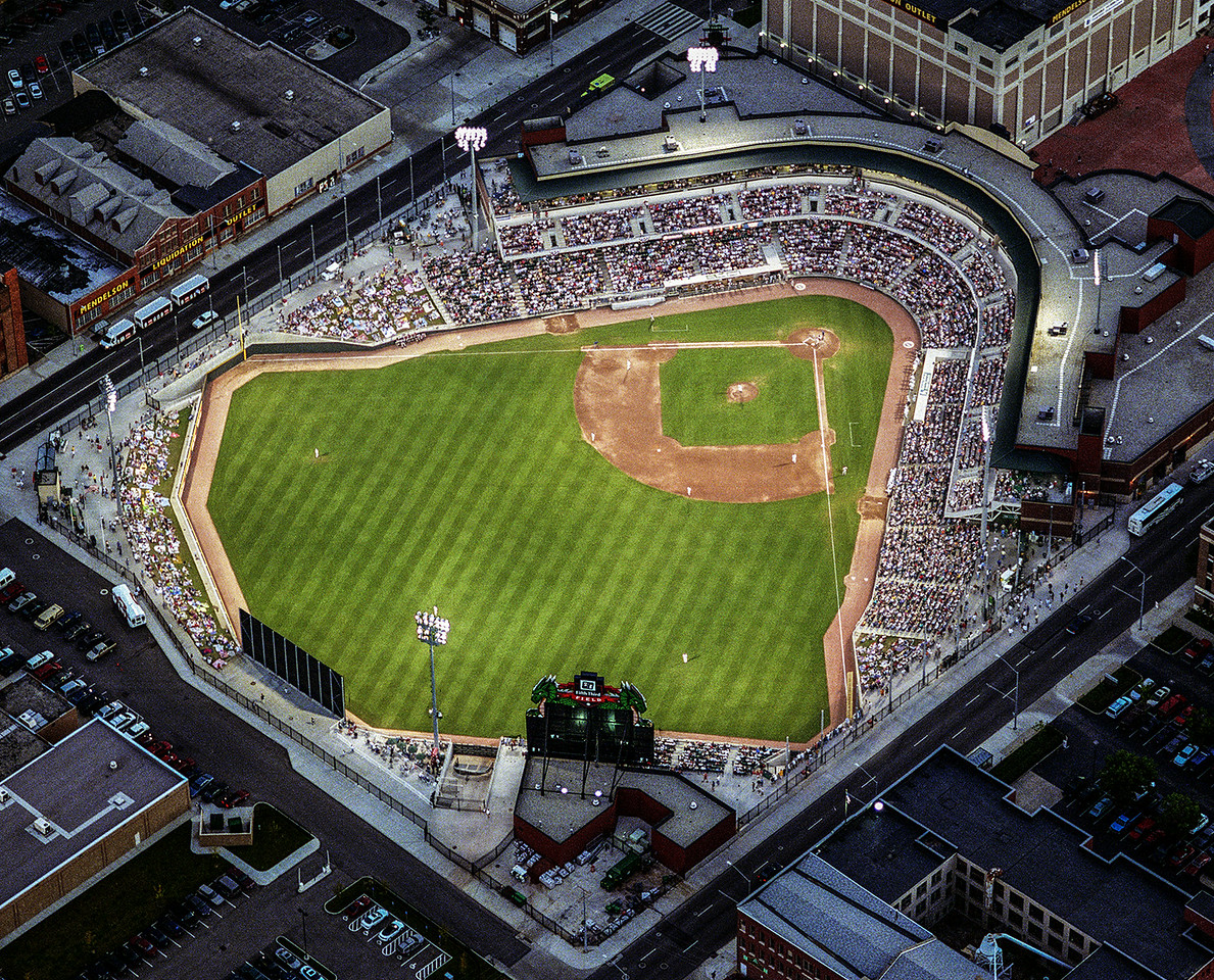 Dayton Dragon Baseball Field