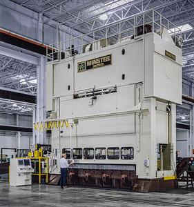 Minster 1600 Ton Stamping Press