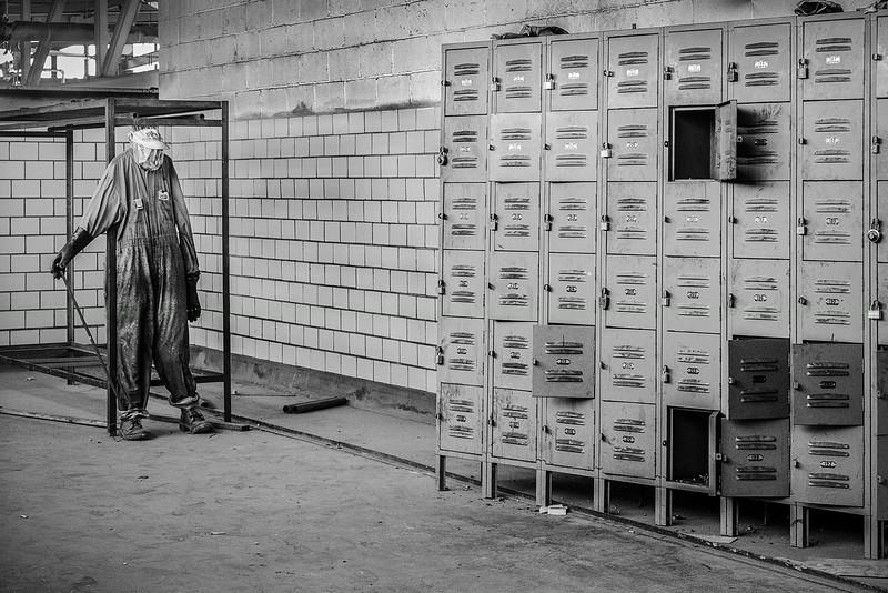 Locker Sentinel in factory