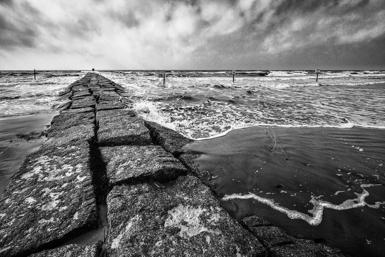 Stone Sea Walk, Galveston TX.