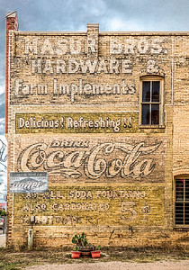 Coca-Cola for 5 cents. Lockhart TX.