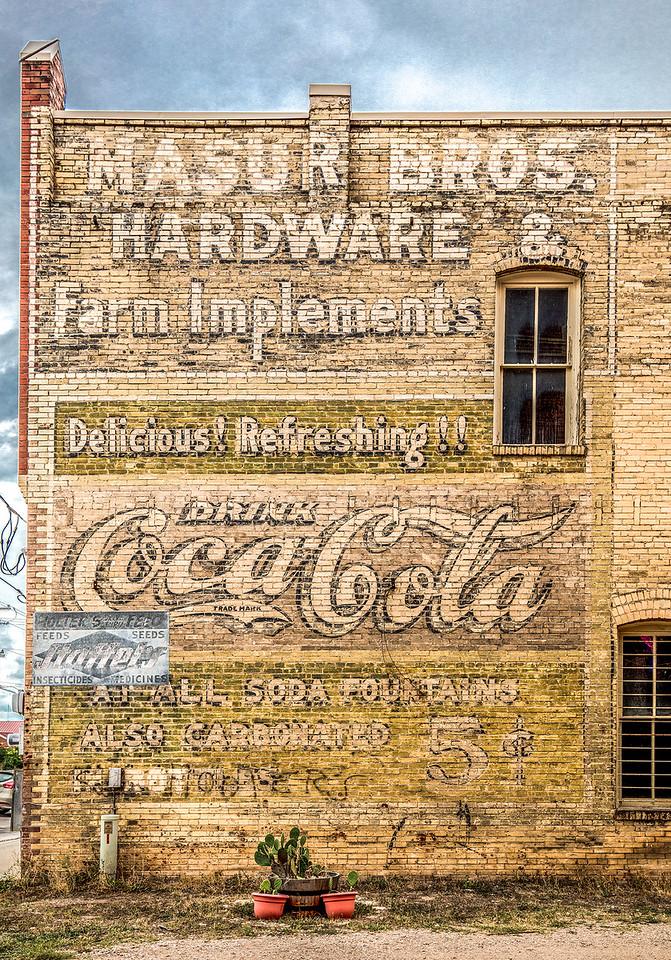Coca-Cola for 5 cents. Lockhart TX.