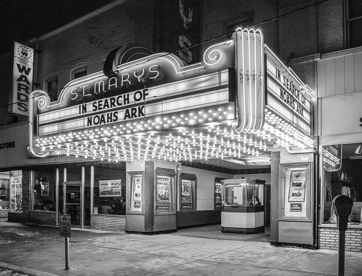 St. Marys OH movie theater 1976.