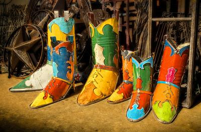 Sheet Metal Cowboy Boots