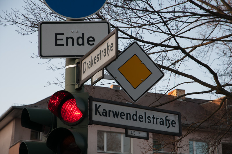 If you visit the Stasi Museum you'll read about something clandestine, violent and nefarious that happened at this intersection.