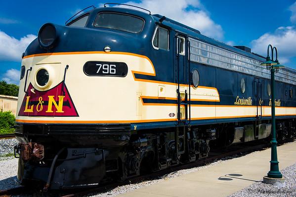Train Museum in Bowling Green, Kentucky