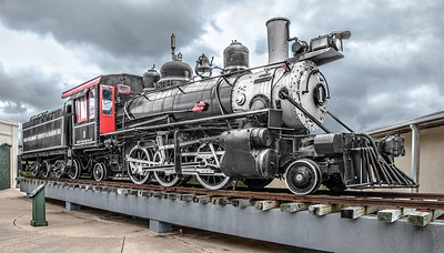 Old Steam Engine, Galveston Train Museum.