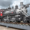 Old Steam Engine, Galveston Train Museum.