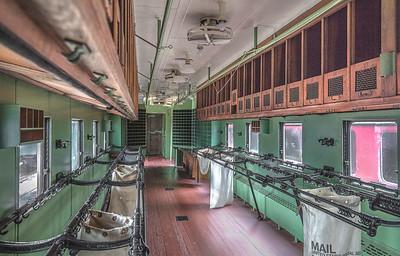 Railway Mail Car, Galveston Train Museum.