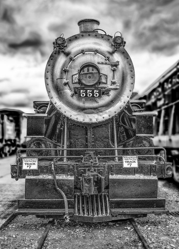 Steam Engine, Galveston Train Museum.