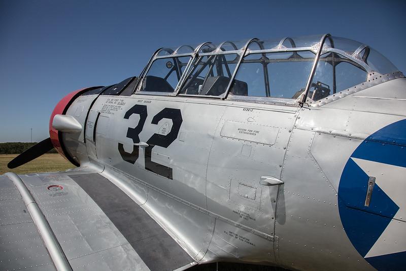 T-6 at Spring Fair at Pioneer Flight Museum in Kingsbury TX.