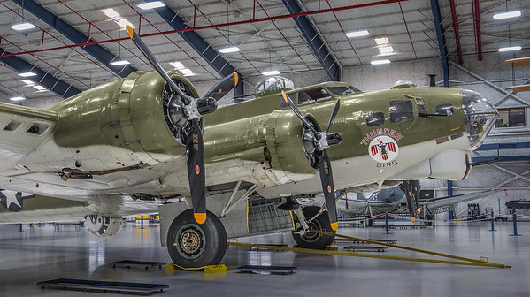 B-17 in Lone Star Flight Museum in Galveston. Now moved to Houston.