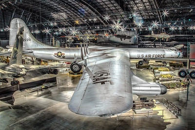 Convair B-36 Peacemaker Bomber at Air Force Museum, Dayton OH