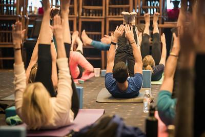 Brunch Yoga at the Sports Pub - Jan 2018