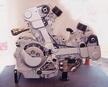 Ducati Cut-Away Desmo Motor