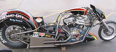 Harley Drag Bike 2