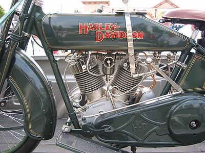 Beautiful Old Harley 2