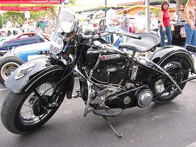 Old Black Harley