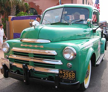 Green Dodge Pickup