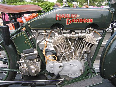 Beautiful Old Harley