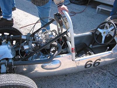 Cooper F500 with Triumph motor