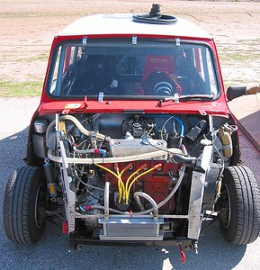 Mini Racer front end
