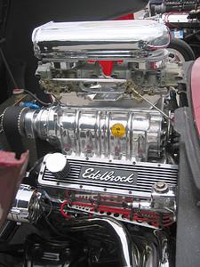 Blown Chevy detail