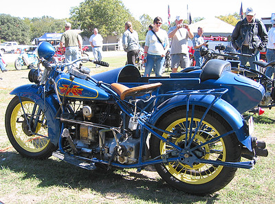 Henderson Sidecar Rig