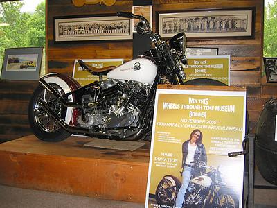 Knucklehead Raffle Bike