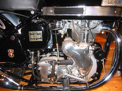 Velocette engine