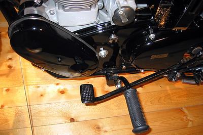 Velocette pedal