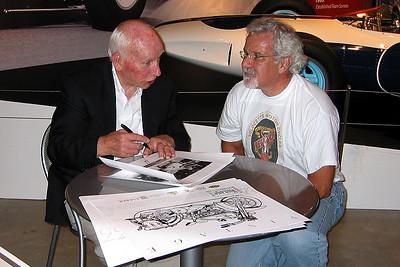 Sir John Surtees and me