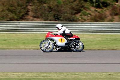 Surtees Circulates on the 500 MV triple