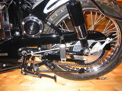 Velocette rear end