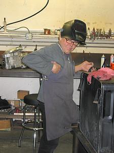 Demon Welder Dennis at Norman Racing