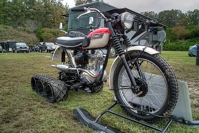 SDIM6289_90_91 - Triumph Cub set up for snow use