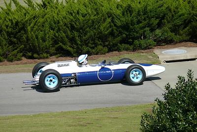 L1060295 - John Surtees in the Ferrari GP car