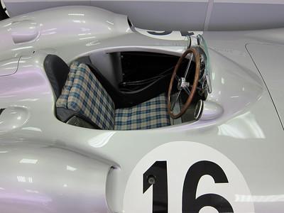 IMG_1032 - Tartan seat in W196 Benz