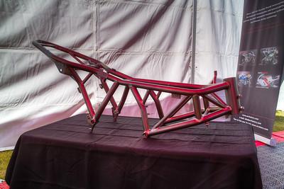 A titanium NCR frame
