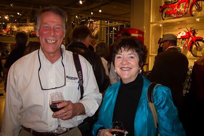 Editor Backus & Den Mother Vicki