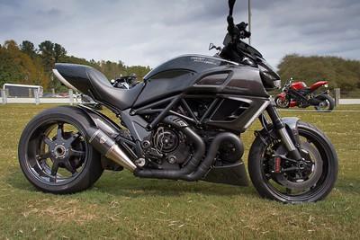 Shift-Tech Ducati Diavel on a high carbon fiber diet