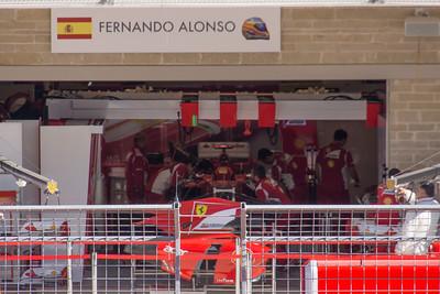Alonso's garage