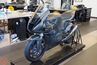 Brough-Superior MotoGP2 racebike
